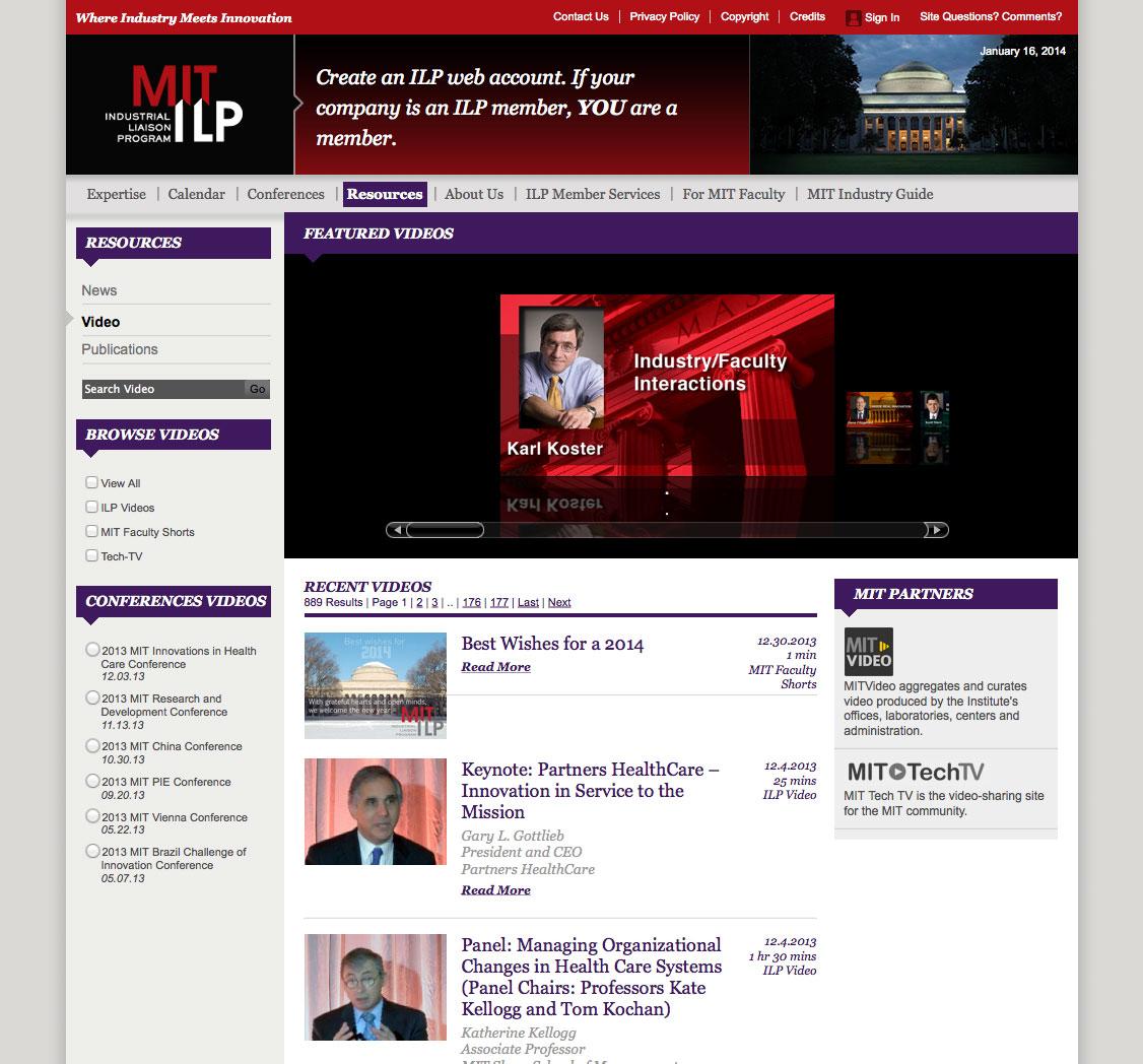 ilp video page
