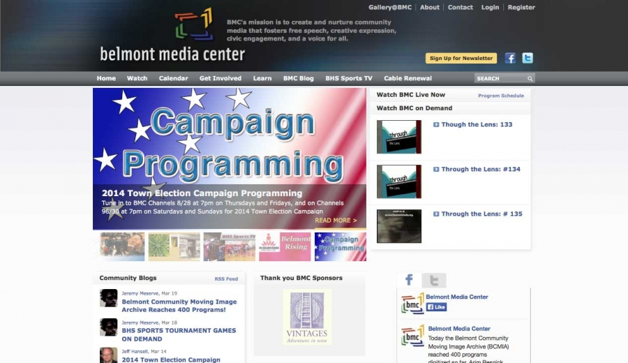 Belmont Media Center