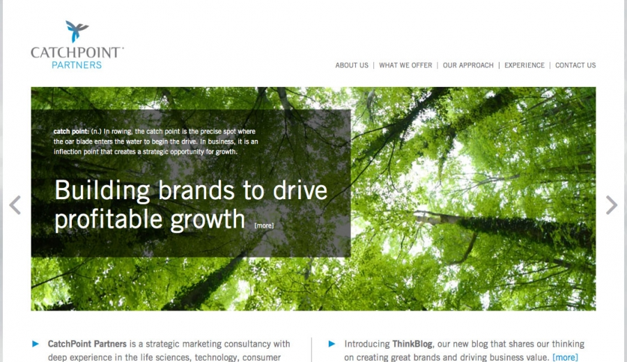 catchpoint home page